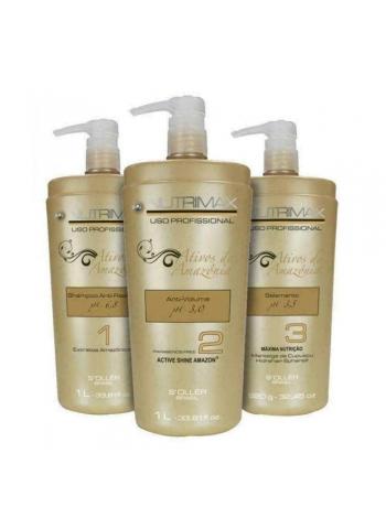 Набір кератину для волосся Nutrimax Soller Kit