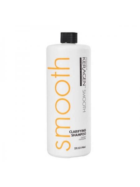 Шампунь Organic Keragen Clarifying Shampoo для глибокого очищення волосся