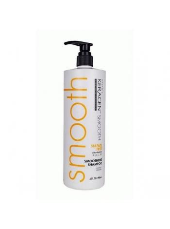 Шампунь розгладжуючий Organic Keragen Smoothing Shampoo безсульфатний
