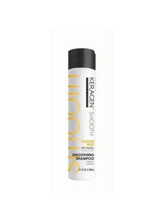 Безсульфатный шампунь Organic Keragen Smoothing Shampoo разглаживающий