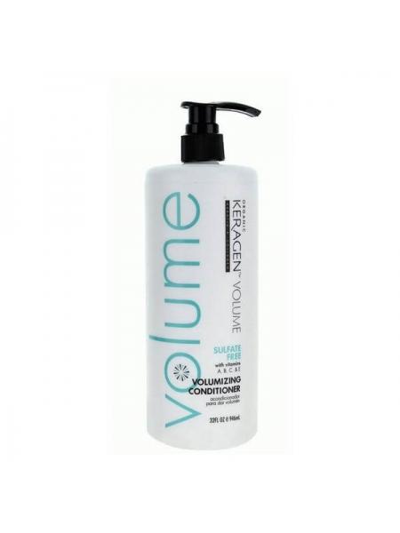 Безсульфатный кондиционер Organic Keragen Volumizing Conditioner для объёма волос