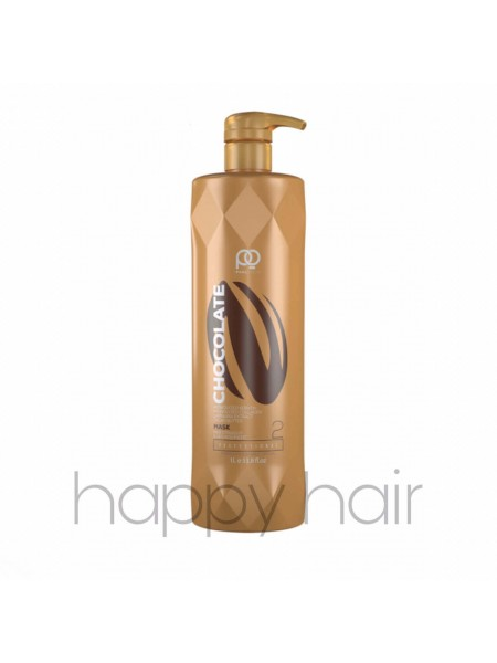 Кератин для волос Paul Oscar Chocolate Max Straight (шаг 2)