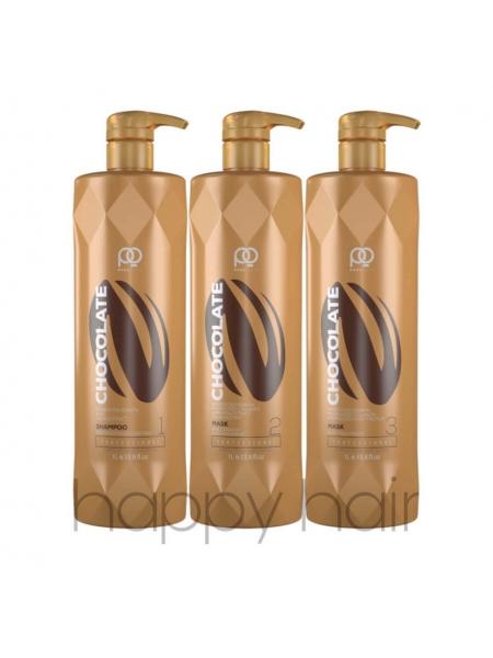 Набір для кератинового випрямлення Paul Oscar Chocolate Max Straight