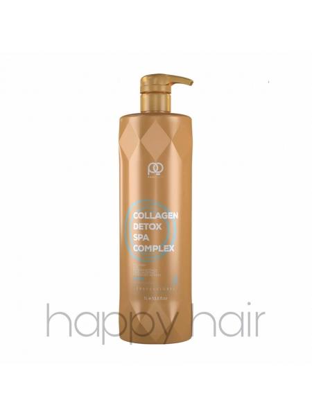 Кератин для волос Paul Oscar Collagen Detox SPA Complex (шаг 2)