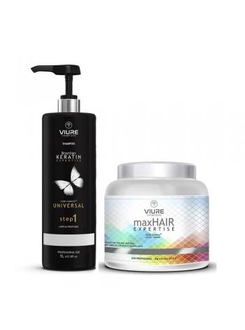 Набор ботокса для волос VIURE Max Hair Expertise