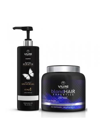 Набор ботокса для волос Viure BlondHair Expertise