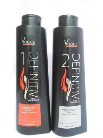 Набір Vogue Definitiv для кератинового випрямлення волосся