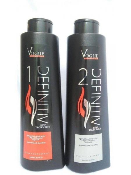 Набор Vogue Definitiv для кератинового выпрямления волос
