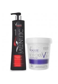 Набор ботокса для волос Vogue Bottoxx Platinum 3.0