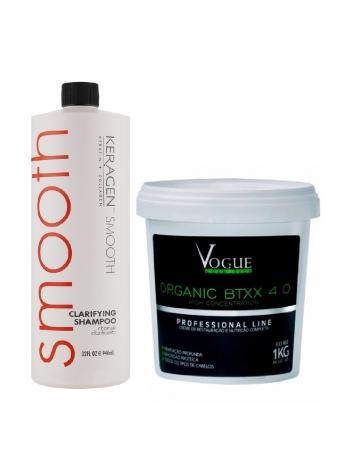 Набір ботоксу для волосся Vogue Cosmetics btox Organico Btxx 4.0