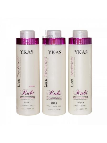 Набор кератина для волос Ykas Rubi