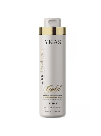 Кератин для волос Ykas Gold (шаг 2)