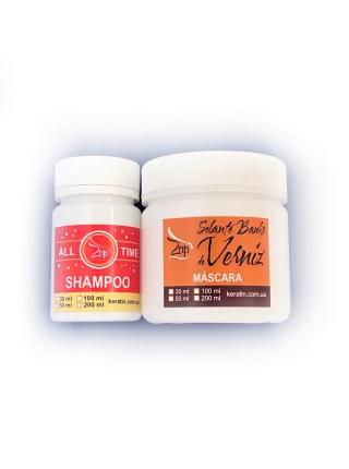 Набір ботоксу-глянцю для волосся Zap Ztox Banho de Verniz