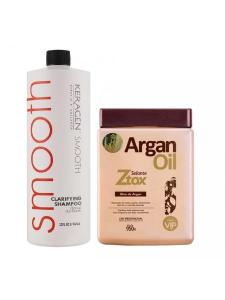 Набор ботокса для волос Btox Selante Ztox Oleo de Argan
