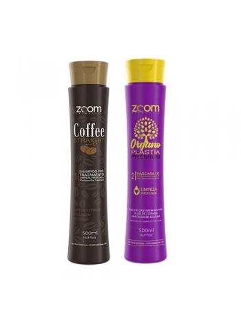 Набір кератину для волосся ZOOM Organoplastia Premium