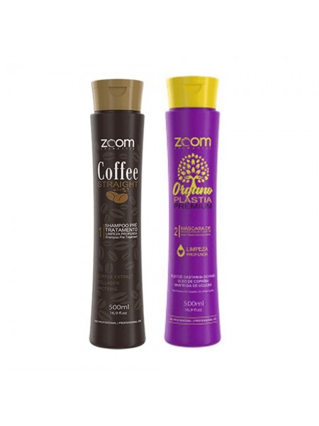 Набор кератина для волос ZOOM Organoplastia Premium