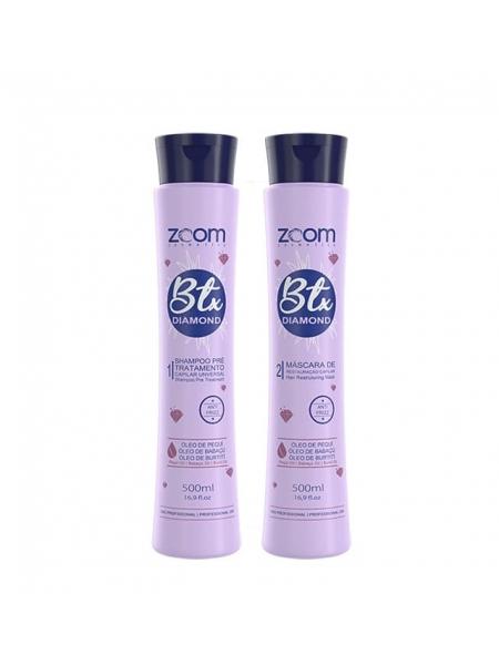 Набор ботокса для волос ZOOM BTX Diamond